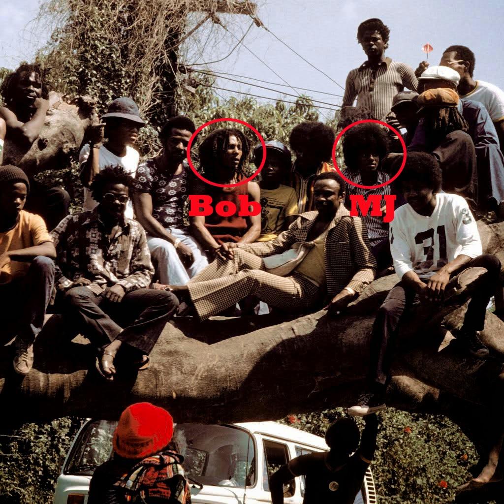Bob Marley Meets Michael Jackson in Jamaica, 1975