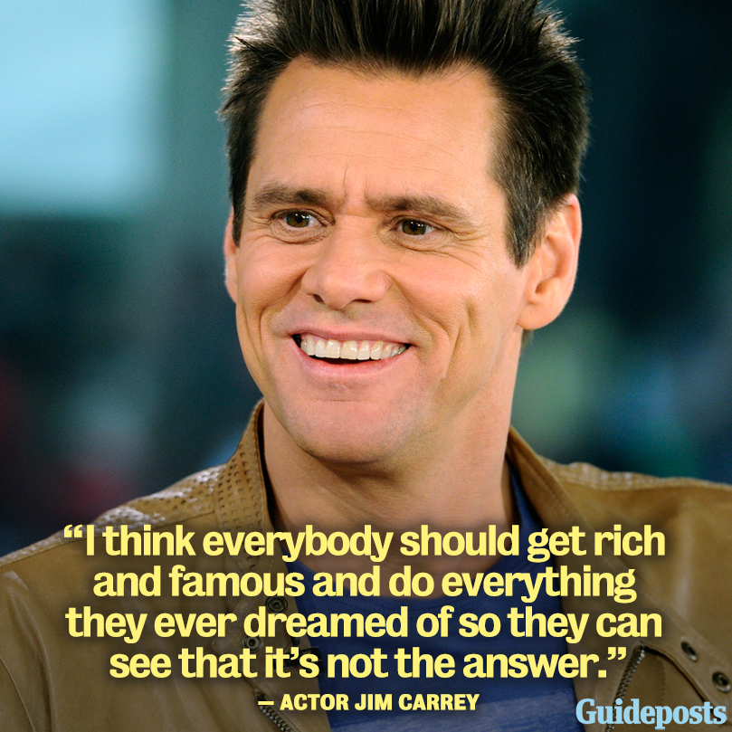 Famous Clever Quotes: Inspiring Words From Jim Carrey May Change Your Life