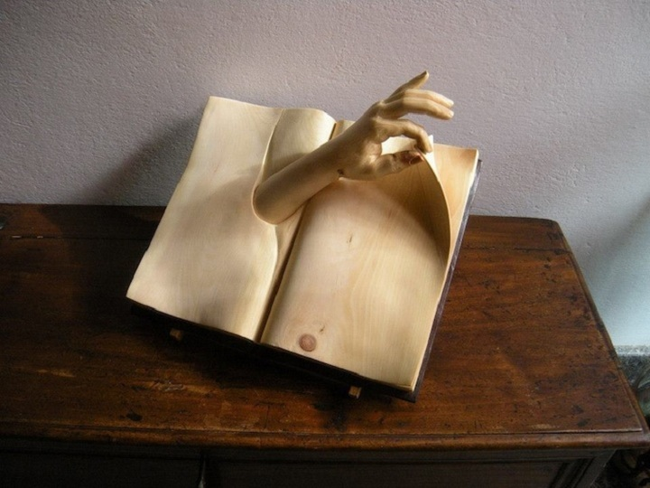 Wood read: Funny and mysterious sculptor Nino Orlandi