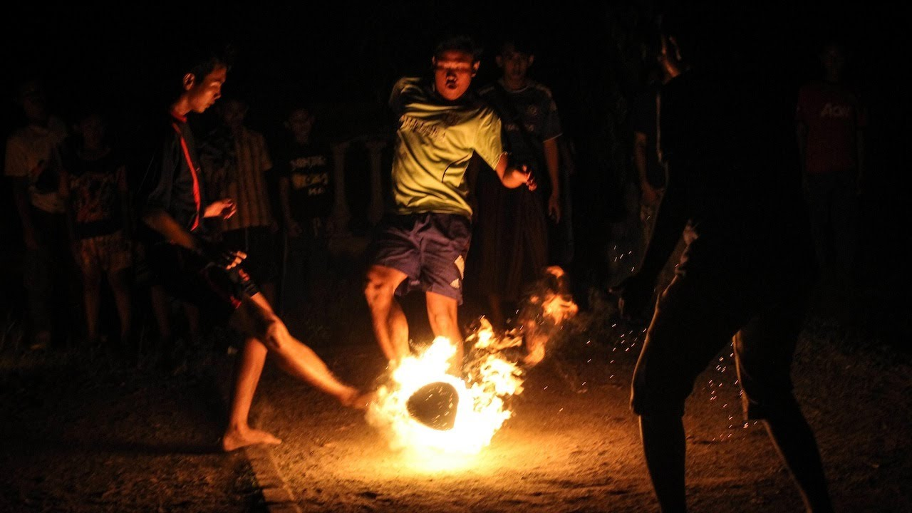 fire-coconut-football