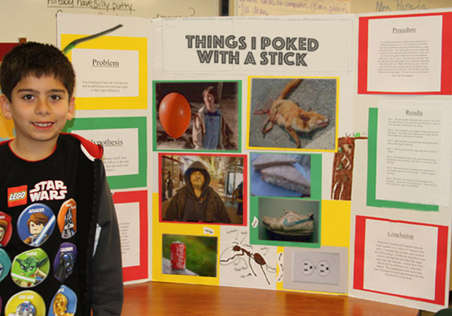 funny science fair projects Parents and teachers across the internet have found fun ways to teach kids science, and have documented the experiments for the rest of us.