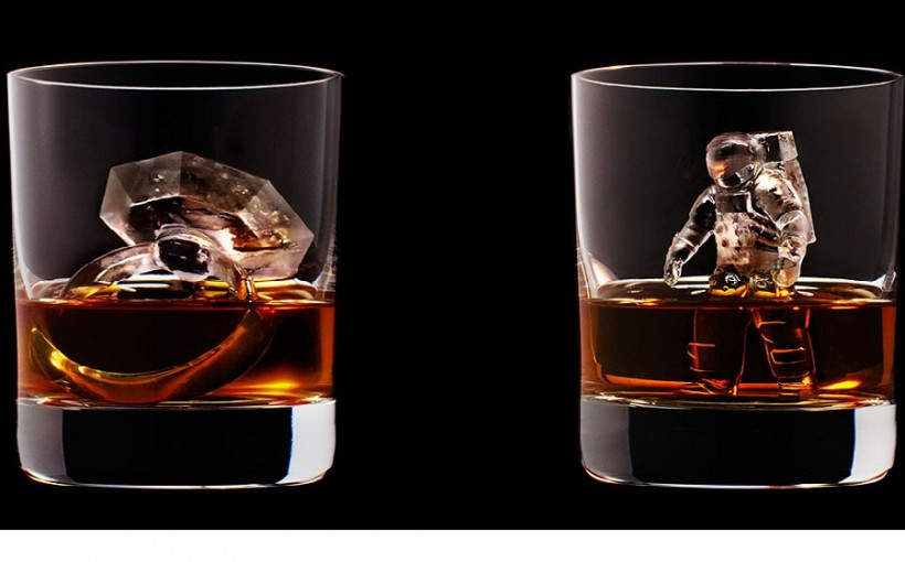 Dazzling 3D Ice Cubes That Will Make You Down Your Whisky In One Gulp