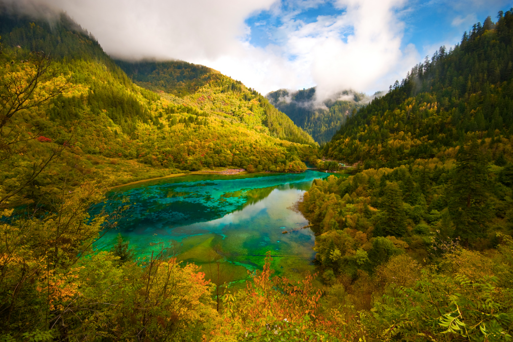 Clearest Water In The World Most Beautiful Lake In The World Jiuzhaigou Alter Minds