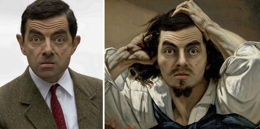 Celebrities Photoshopped Into Famous Paintings – by Bénédicte Lacroix
