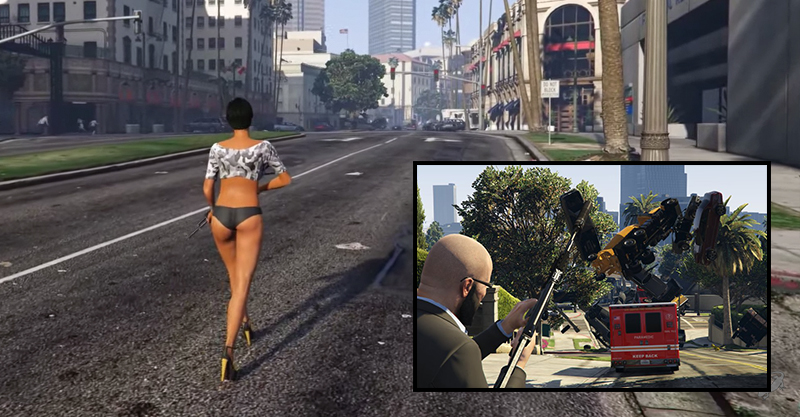 New GTA V Mod Lets You Fire Cars Out Of Cannons Because F*ck It