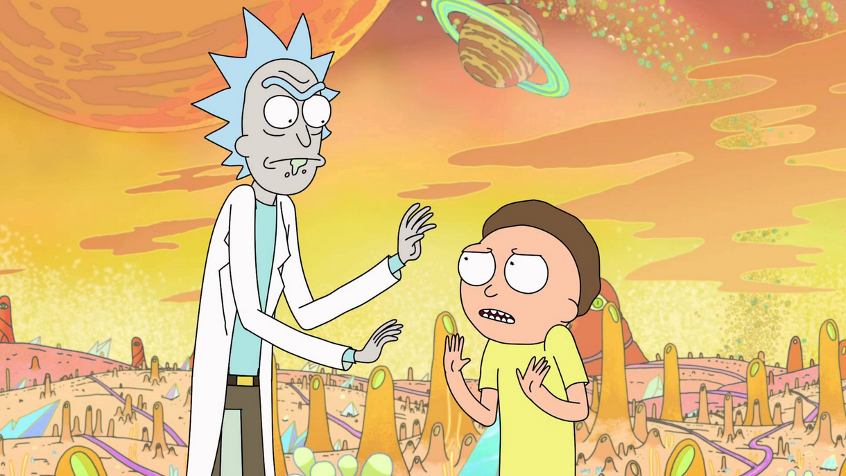 Eminem's 'Rap God' Synced Up With Rick And Morty Is Incredible