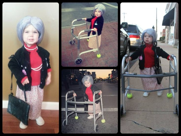 Most Adorable Toddlers Dressed up as Oldies!