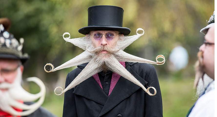 Epic Beards From 2015 World Beard And Moustache Championships