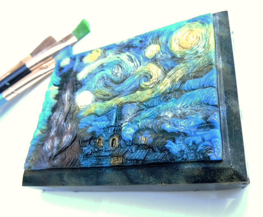 Lovely Handmade Soap Art Collection