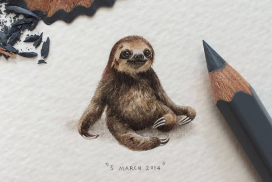 Just Look at the Stunning Detail in These Impressive Mini Paintings
