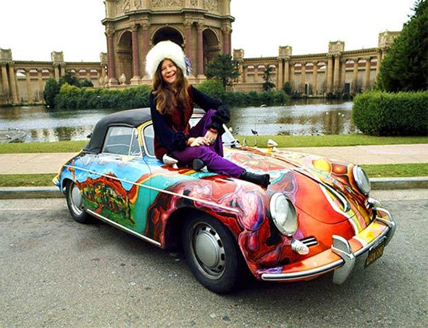 Rock Stars Cars - 13. Janis Joplin – Porsche 365