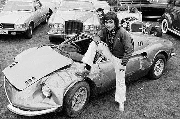 Rock Stars Cars - 6. Keith Moon – Ferrari Dino 246