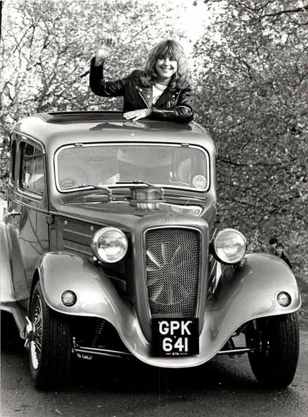 Rock Stars Cars - 7. Suzi Quatro – Austin Ruby