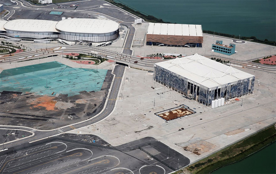 Rio 2016 Olympic Areas Only Just Six Months After The Olympics 11