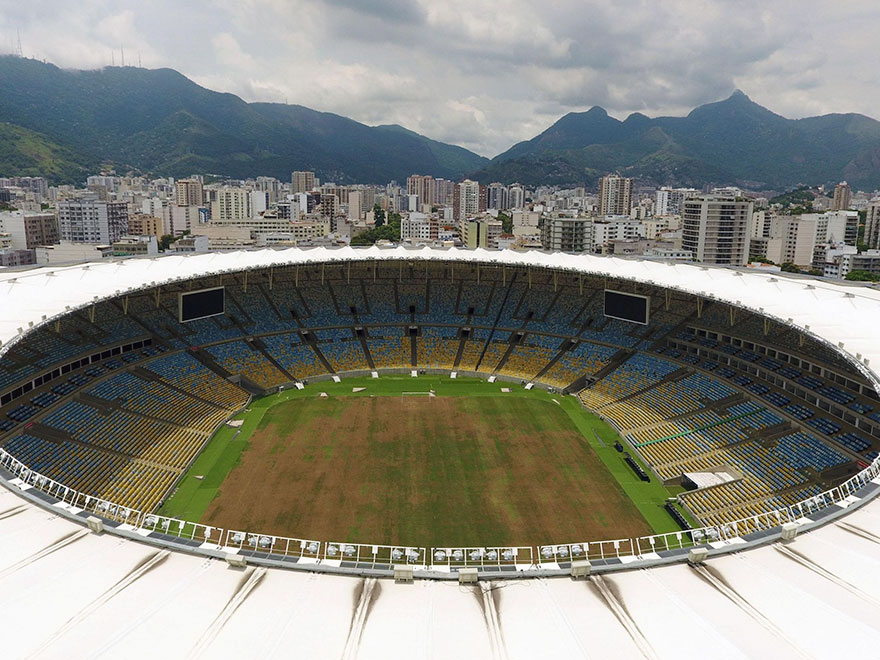 Rio 2016 Olympic Areas Only Just Six Months After The Olympics 2
