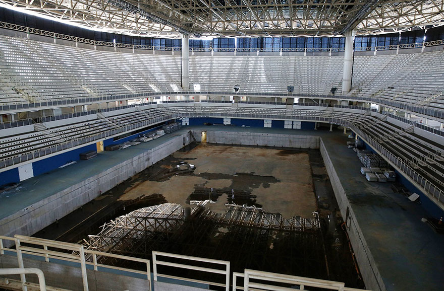 Rio 2016 Olympic Areas Only Just Six Months After The Olympics 7